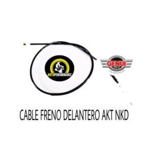 CABLE FRENO DELANTERO AKT NKD