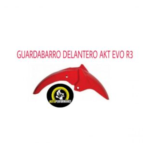 GUARDABARRO AKT EVO R3 ROJO